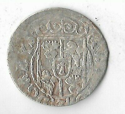 1633 Silver 1/24 Thaler Rare Very Old Medieval Era European Collection Coin Nice