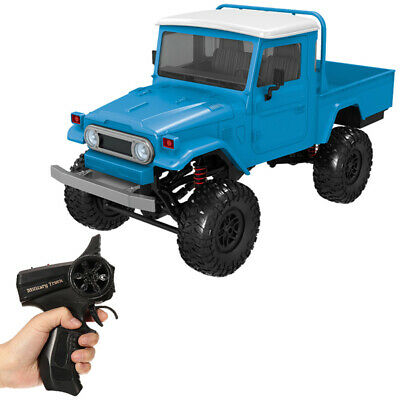 DIY Kit Off-road Pickup RC Car 1/12 4WD 2.4G Remote Control Crawler Truck Toys