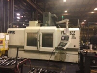 Large VMC - 2007 CNC Viper 65 x 35 x 35 With Fanuc 21iMB, Pallet Changer - Video