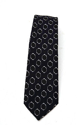 Vintage Tie Mens Wide Necktie Retro Fashion 1970s HARDY AMIES VGC