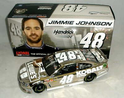 1:24 Action 2013 #48 Kobalt Tools Lowes Chevy Ss Jimmie Johnson Polished Nickel
