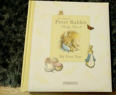 The Original Peter Rabbit Baby Book - My First Year - Unused - RRP £9.99