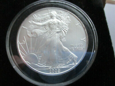 2009 American Eagle 1 oz 999 Silver Coin in Air-Tite Holder