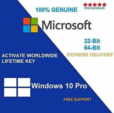 windows 10 professional 32 or 64 Bit activation key Fast Delivery