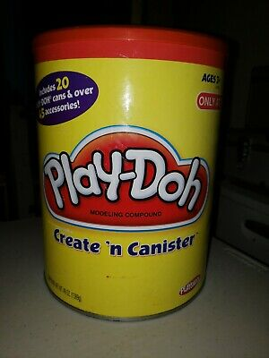 Play-doh Create N Canister TARGET Exclusive PREOWNED