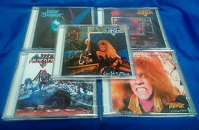 Lizzy Borden-5CD Set-Love You To Pieces/Menace To Society/Terror Rising/Visual