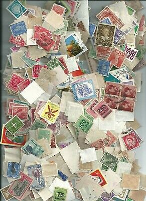 Foreign stamps by the ounce....totally unchecked....about 500-600 per lot used/m