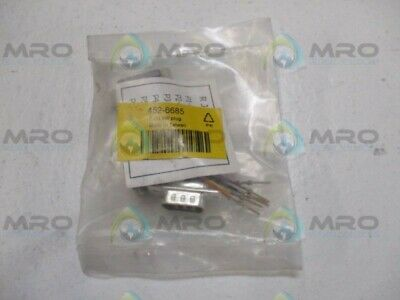 Neutral 452-6685 Rj 9W Plug *New In Factory Bag*
