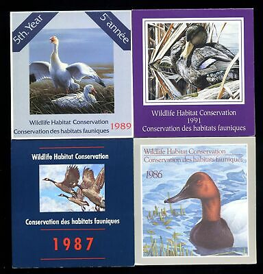 Lot of 4 Canada MNH Mint Never Hinged Wildlife Conservation Stamps #137358 X R