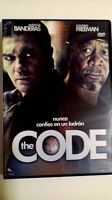 Película  Dvd - The Code -  Antonio Banderas - Morgan Freeman