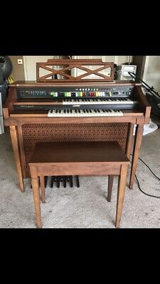 LOWREY SYMPHONIC ORGAN with Padded Bench - $200 00 | PicClick