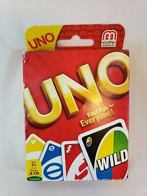 Mattel | UNO | Card Game | GET WILD UNO | Latest Version Great Family Fun New