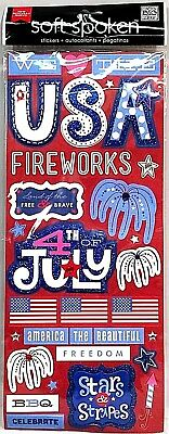 4th of July Soft Spoken Stickers Me /& My Big Ideas