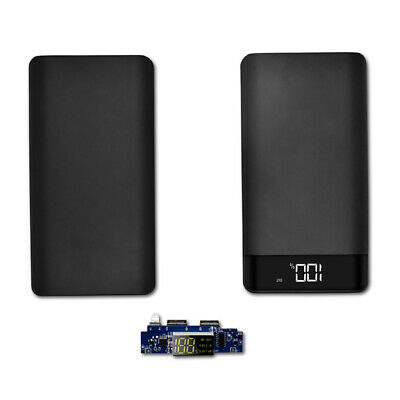 20000mAh Backup External Battery Dual USB Power Bank Pack Charger for Cell Phone
