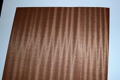 Sapelli Ribbon Stripe Wood Veneer Sheets 14 x 42 inches             R7719-22