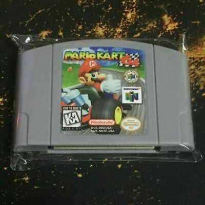 Mario Kart 64 Video Game Cartridge For Nintendo N64 Console