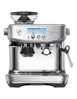NEW Breville the Barista Pro Coffee Machine: Brushed Stainless Steel BES878BSS