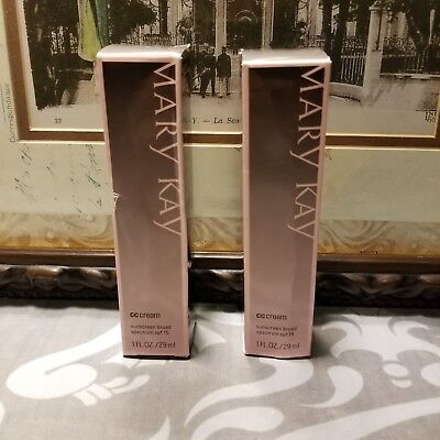 2 Mary Kay CC Creams SPF 15▪Deep & Very Deep▪Exspired
