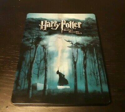 Harry Potter and the Deathly Hallows Part 1 3-disc Blu-ray Steelbook