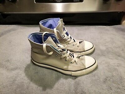 67e1278fac0c converse all star chuck taylor high top double tongue shoes-junior size  5-preown