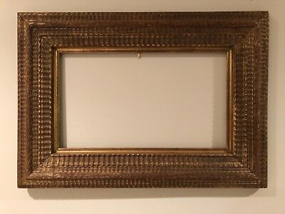 Incredible 18x10 Vintage Newcomb Macklin Style Stanford White Picture Frame e