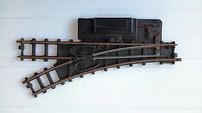 Triang Hornby R291 R293 LH Points Motorised (1 off)