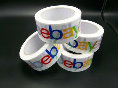 """2"""" x 75 yards Classic-Official eBay Branded Packaging Tape (4 rolls)(SHIPS FREE)"""