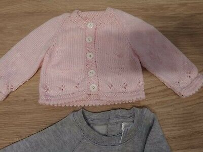 Size 0000 Newborn Girl Clothes Winter Bundle - New!