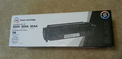 LD Black Laser Toner Cartridge for Canon 118 or HP 305X / 305A / 304A New in box