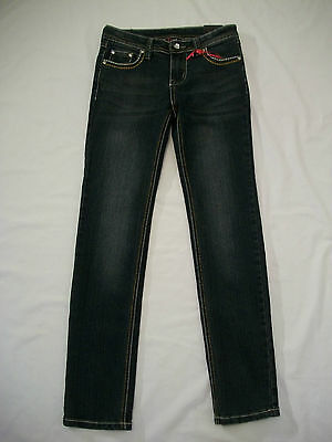 Paper Denim & Co Girls Blue Skinny Jeans - Size 10 (retail $62.00)