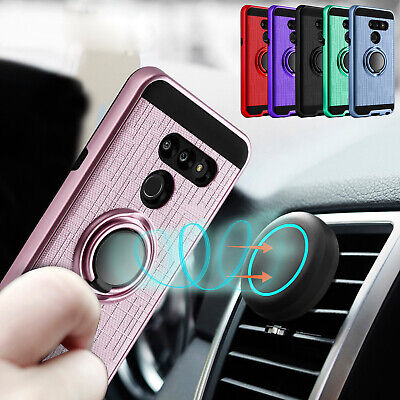 For LG G8 ThinQ / LG G8 Phone Case Hybrid Shockproof Car Mount Hard Armor Cover