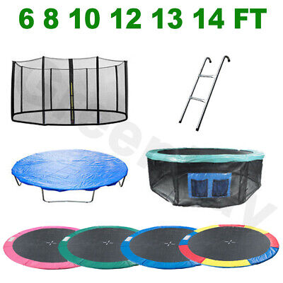 Trampoline Spring Cover Padding Safety Net Rain Cover Ladder Skirt Replacement