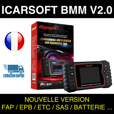 iCarsoft BMM V2.0 Valise Diag PRO OBD2 compatible BMW + MINI - SNOOPER DS150
