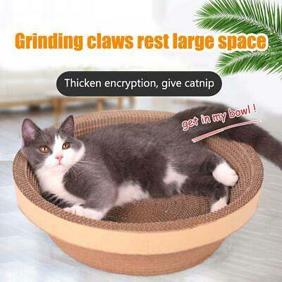 Cat Scratch Board Large Space Bowl Type Condo Furniture Play House
