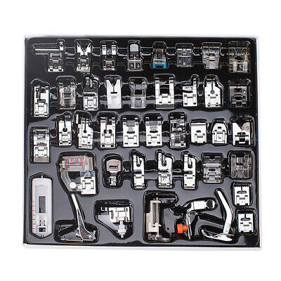 42 Domestic Sewing Machine Presser Walking Foot Kit for Brother Singer Babylock