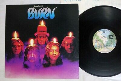 DEEP PURPLE BURN WARNER P-10104W Japan VINYL LP