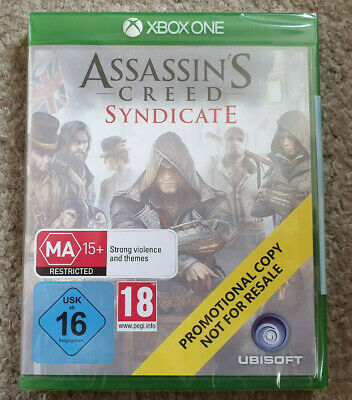 Microsoft Xbox One Game Assassin's Creed Syndicate New Sealed Promo Version