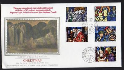 1992 Christmas  FDC House of Lords CDS  Postmark Sent Post Free