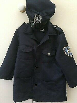 Kids police costume size 3 to 6 yrs