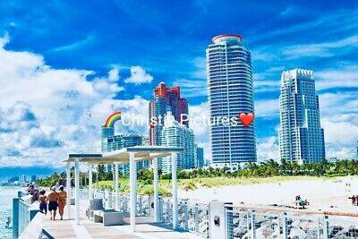 Photo, Wallpaper Digital image Picture Free Worldwide Delivery, Buildings Beach