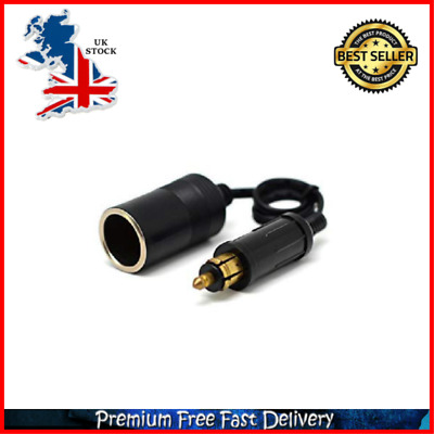 NEW Cliff Top Extended Hella Din to Standard Cigarette Lighter Adapter 9.6 Inch
