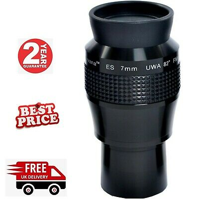 Nirvana-ES 7mm UWA-82 High Performance Eyepiece