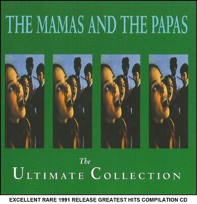 The Mamas & The Papas - Very Best  Greatest Hits Collection CD 1960's Mama Cass
