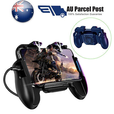 Mobile Phone Game Controller Gamepad Joystick Fire Trigger For PUBG IOS Android