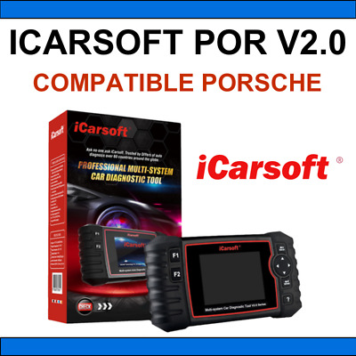 ✅ Valise Diagnostic Icarsoft Por V2.0 - Porsche - Multidiag Autel