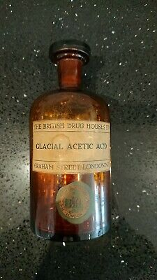 Vintage Laboratory Reagent Bottle