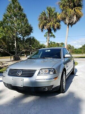 2002 Volkswagen Passat Wood and Leather Volkswagen Passat W8 4.0 All Wheel-Motion