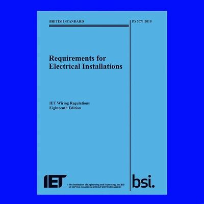 BS7671 18th edition book in PDF format