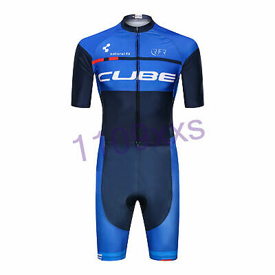 KJU1269 Racing Cycling Skinsuit Jumpsuit Conjoined Padded Size S//M//L//XL//XXL//XXXL