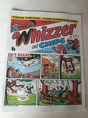 Whizzer and chips comic 1978